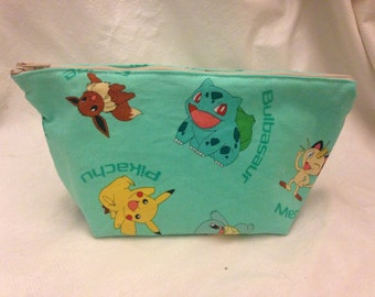 Seafoam Anime Monster Pouch