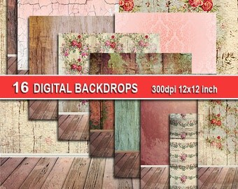 Newborn Digital Backdrop for newborn photography Digital Scrapbook Background Paper Newborn photo backdrop newborn digital prop room sale