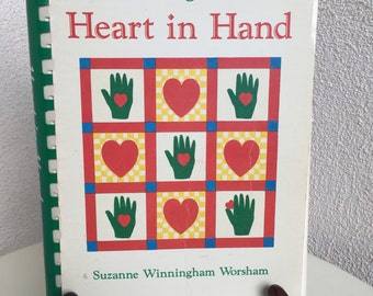 Vintage Cooking with Heart in Hand cookbook by Suzanne Winningham Wosham paperback
