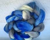 Handdyed merino wool roving top