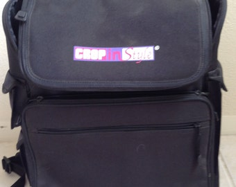Scrap booking bag - near new