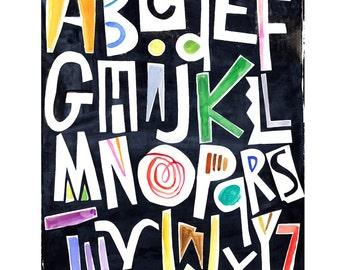 Silk Alphabet