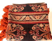 Vintage Italian woven bed cover