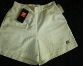 Vintage Wilson Shorts Tenis White Summer Shorts 80s Sportswear Women's Pants Tenis