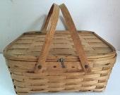 Vintage Pie Basket West Rindge Baskets New Hampshire