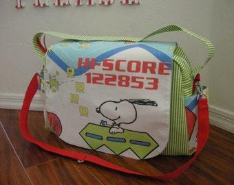 Snoopy Diaper bag / shoulder and messenger bag