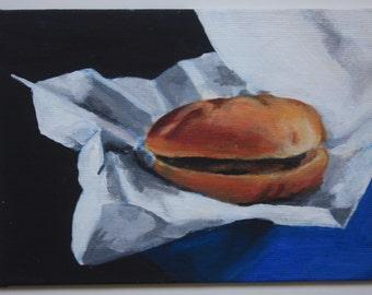 Hamburger Still Life