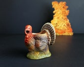 Vintage Thanksgiving Turkey Planter Vase Fall Holiday Decoration