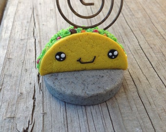 Kawaii  Taco Note/Picture Holder