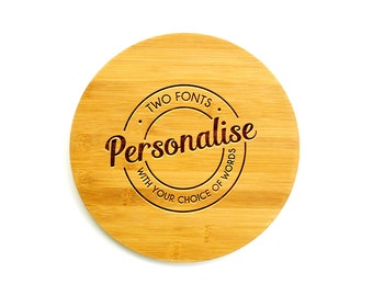 Personalized Cutting Board | Two Fonts | Christmas gift
