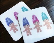 Troll Doll Magnet - Doll Lover Gift - Trolls