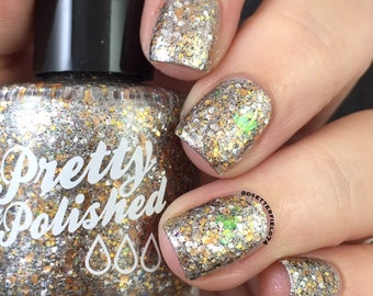 Heavy Metal Glitter Nail Polish