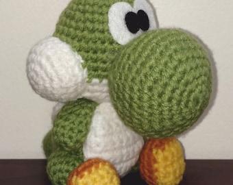 Custom Crochet Yoshi Amigurumi