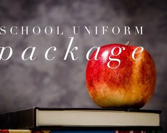 Custom school uniform package for katie