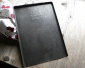 Antique Rare Advertising Bakery Style Long Embossed Fine 'BALLARD Oven Ready Biscuit Cookie Sheet', NO Rust or Baked On Old Blackened Grease