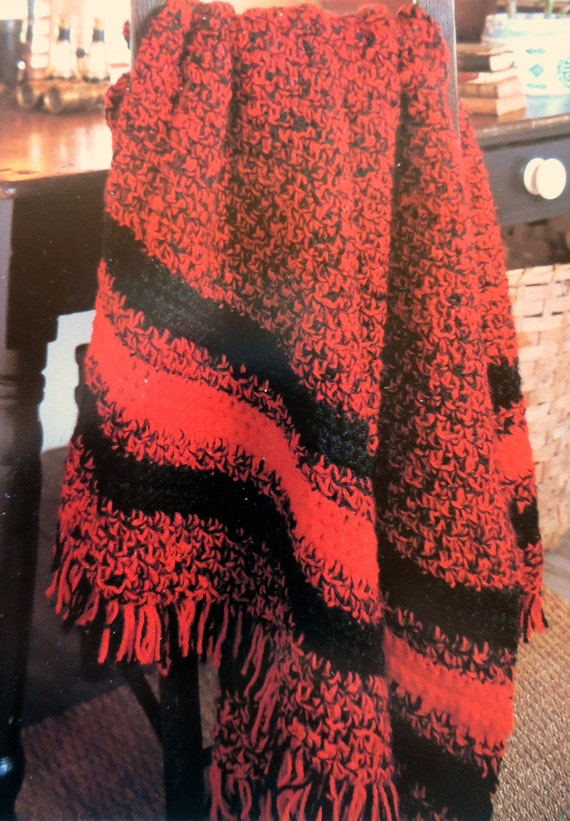 Easy Crochet Patterns For Lap Blankets : Easy Crochet Afghan Pattern Adult Throw Blanket Lap Blanket