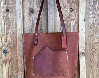 Leather Tote* Leather Handbag* Leather Barrel Bag Tote* Boho Leather Tote* Soft Leather Bag* Oiled Leather Bag* Custom Leather Bags