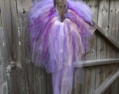 Adult Tutu Purple Swan rave fairy bustle