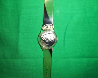 One (1), 1996, Man's Swatch Watch, G 726
