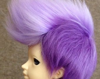 MSD Fauxhawk Fur Wig [Your Color Choice!]