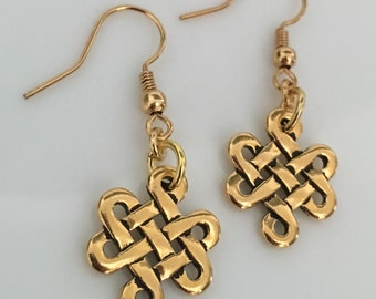 The Endless Knot Earrings