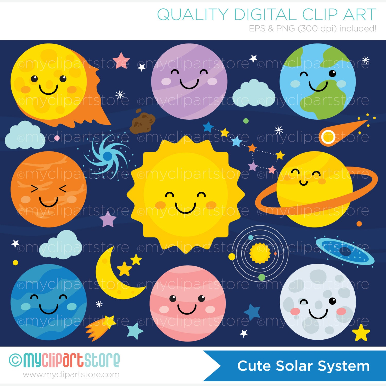 solar system clipart -#main