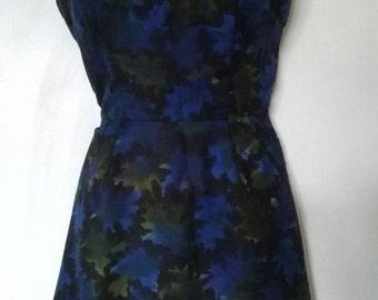 Vintage sleeveless sixties dress sml