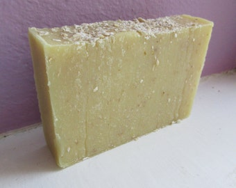 Oatmeal Milk and Honey Cold Process Soap