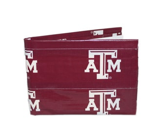 Texas A&M Duct Tape Wallet
