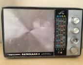 REALIISTIC Patrolman-4 Vintage Radio AM/FM - Squelch