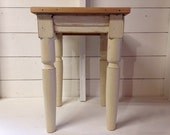 Please Do Not Purchase Reserved for Lise - 19th Century Reclaimed Wood Side Table