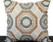 Pillow, Throw Pillow, Pillow Cover, Cushion, Decorative Pillow, Charm Caramel Brown Cream Gray traditional contemporary modern decor
