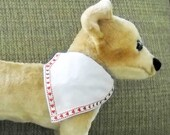 Pet Bandana Valentine Small With Red Hearts
