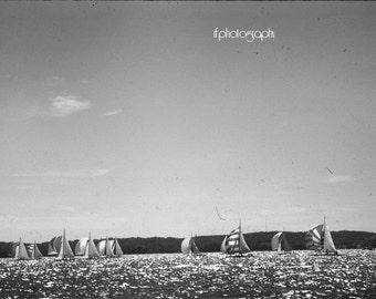 Vintage Sailing Photograph #1