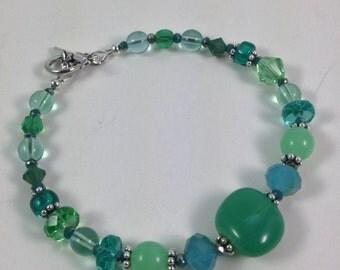 Meadows Czech Glass Bracelet