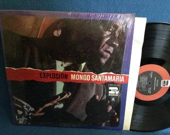 "RARE, Vintage, Mongo Santamaria - ""Explosion"", Vinyl LP Record Album, Original 1st Press, In Shrink, Riverside, Fatback, Jazz"