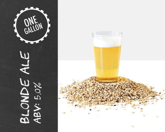 Blonde Ale 1 Gallon Beer Recipe Kit