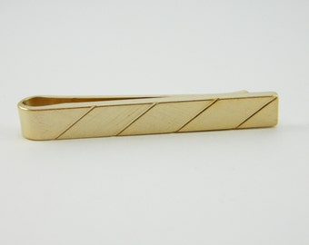 Muted Gold Tie Bar - TT073