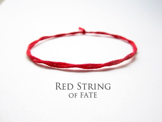 Red String Bracelet Red String Of Fate Mens String By 68red