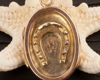 Antique Victorian 14 Karat Gold Locket