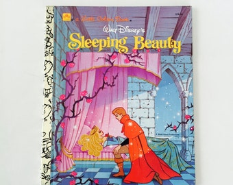 Sleeping Beauty Little Golden Book / Walt Disney's Sleeping Beauty A Little Golden Book  #104-66 1986