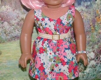 Sundress and Bracelet for American Girl Dolls