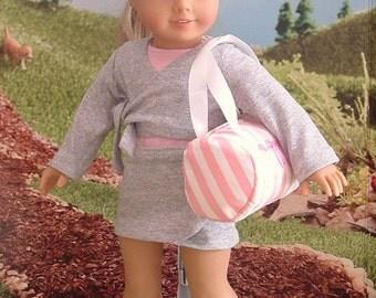 Ballet Practice 7 Piece Set for American Girl Dolls