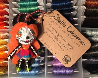 Skelita Calaveras Monster High Voodoo Doll Keychain