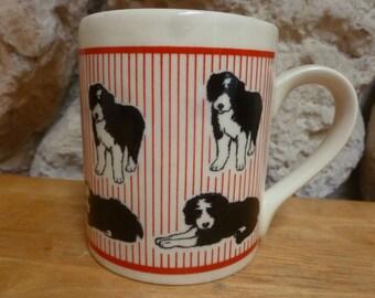 Border Collie dog mug by McLaggan Smith Scotland
