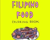 The Little Filipino Food Coloring Book