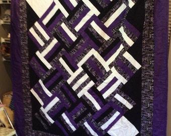 Purple Square Quilt