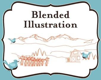 Add On - BLENDED Illustration Fee