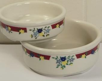 Thomas Jefferson Hospital China, Hall, vintage restaurant ware bowls