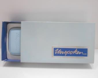 Vintage 1970s Avon Unspoken Perfumed Soaps (10) 3 Bars